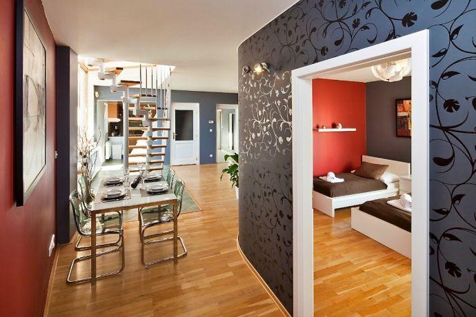 Apartment vaclavske namesti praha for The living room 002