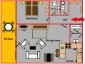 Apartment Albertov Prague Floor plan
