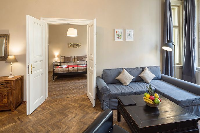 Accommodation dlouha prague your apartments for Joop living room 007