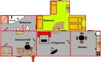 Karlova street Prague Apartment Floor plan