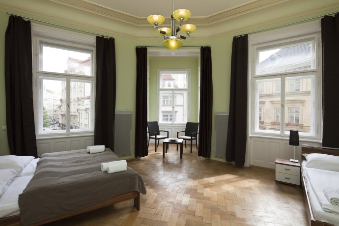 Luxury apartment dusni prague your for Designer apartment prague