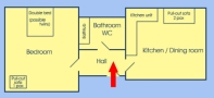 Appartment Wenceslas Square Floor plan