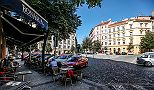 Pleasant accommodation Prague Vinohrady Apartment neighbourhood
