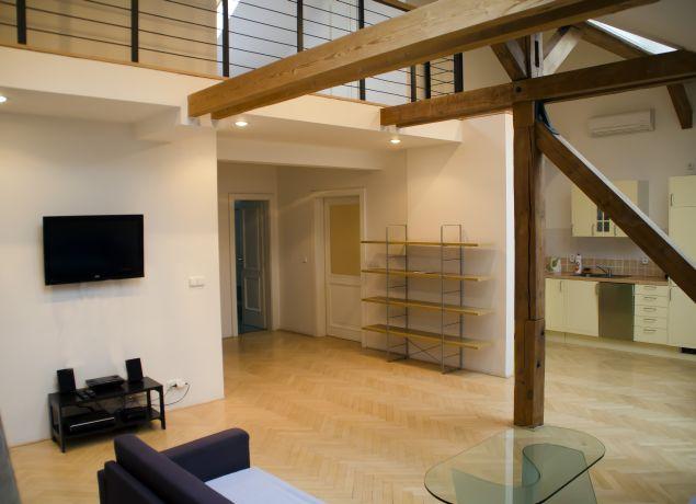 Stepanska apartment prague for The living room 002
