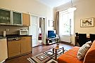 Husova Apartments - One-Bedroom Apartment Living room