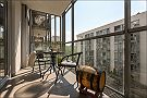 Beautiful apartment in Warsaw Balcony