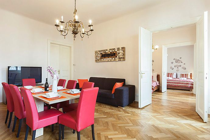 Castleview Apartment in Prague for short term rent