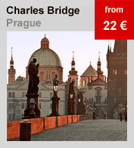 Prague Charles Bridge apartments for rent