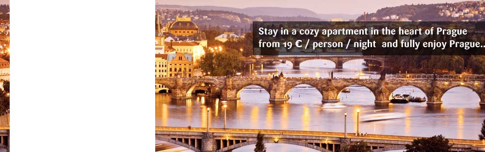 Promotional Offer for Prague Apartments